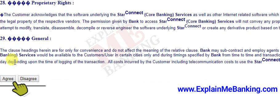 BOI Online Banking Activate Term & Conditions