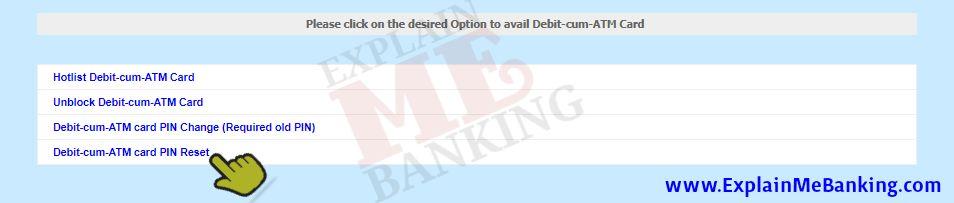 BOI ATM PIN Reset Online