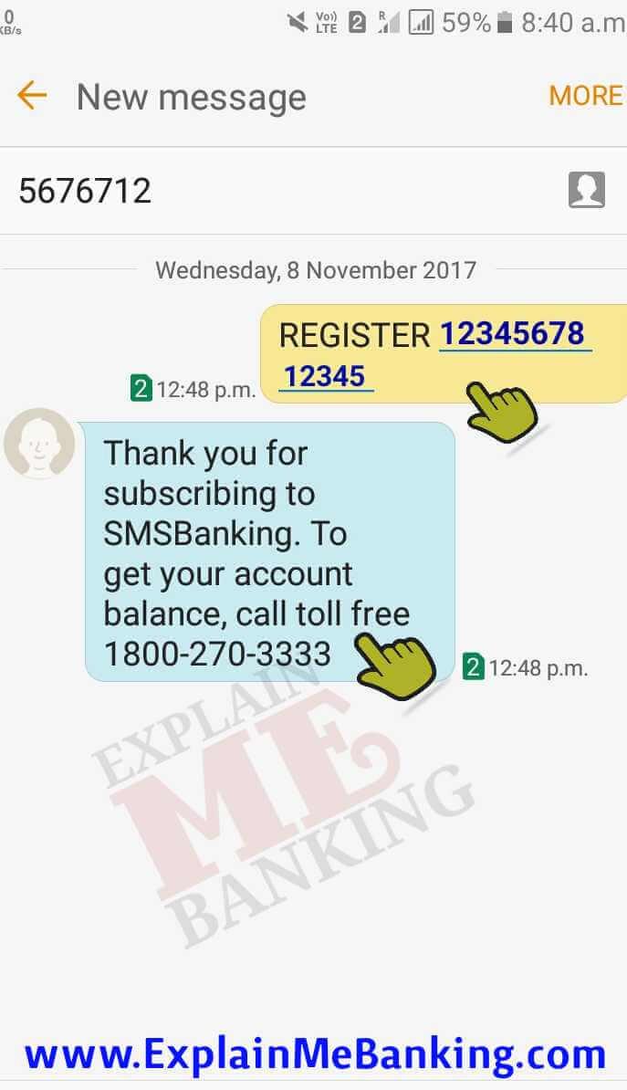 HDFC Mobile Number Registration
