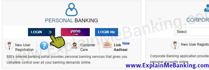 Login SBI Net Banking