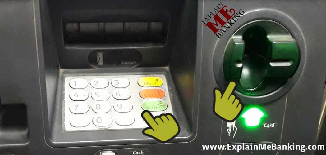 ATM KeyPad Aur ATM Swipe Position