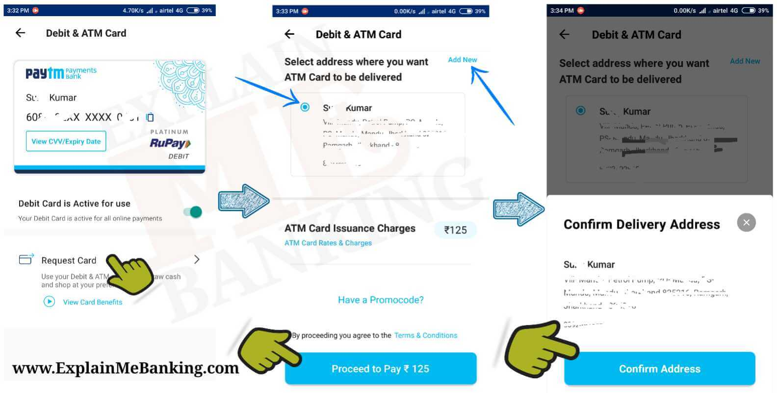 Paytm ATM Card Apply Online