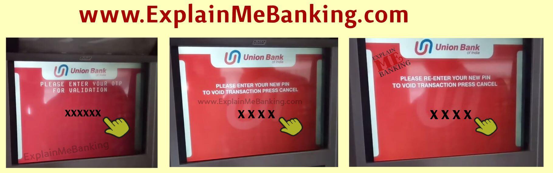 UBI Debit Card PIN Forgot