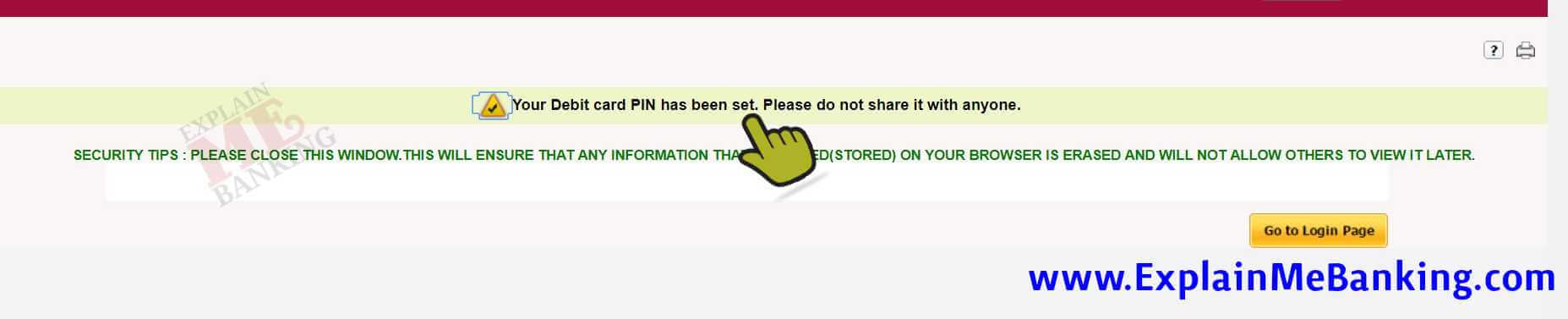 Forgot PNB Debit Card PIN Online
