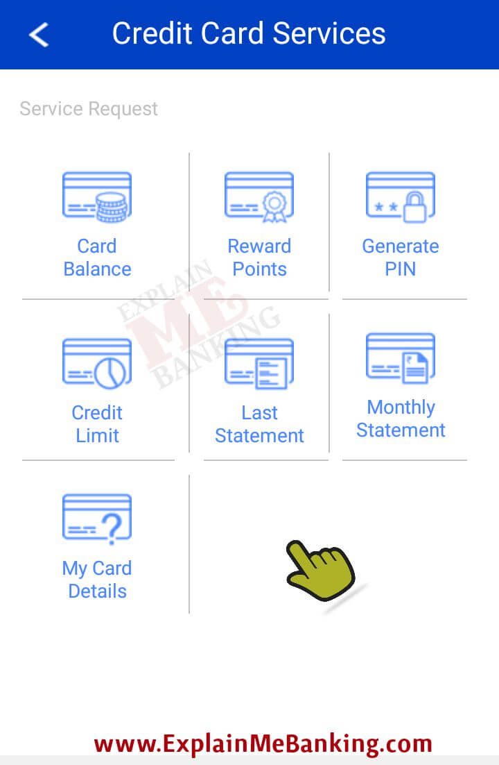 HDFC Bank Credit Card Services