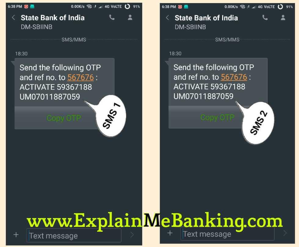 SBI Registered Mobile Number