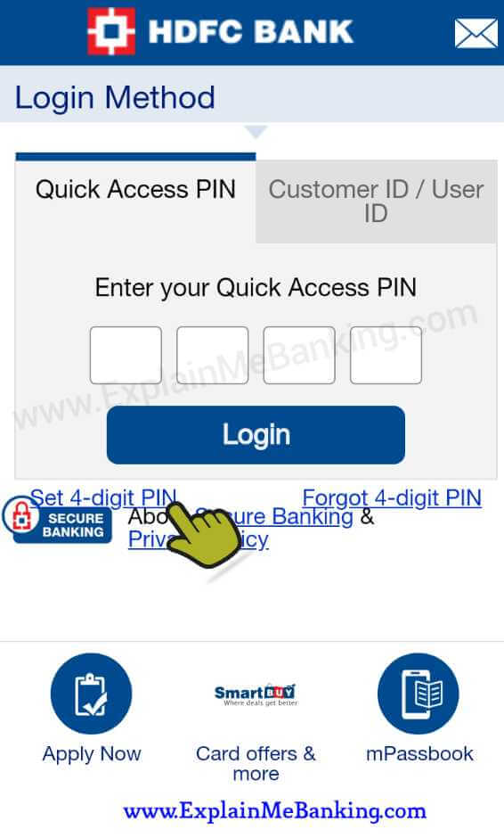 HDFC Bank MobileBanking Register And Activate Kaise Kare ?