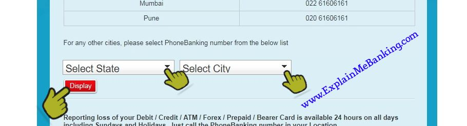 HDFC PhoneBanking Number Find Karna